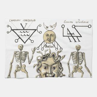 Occult Symbols Tea Towel
