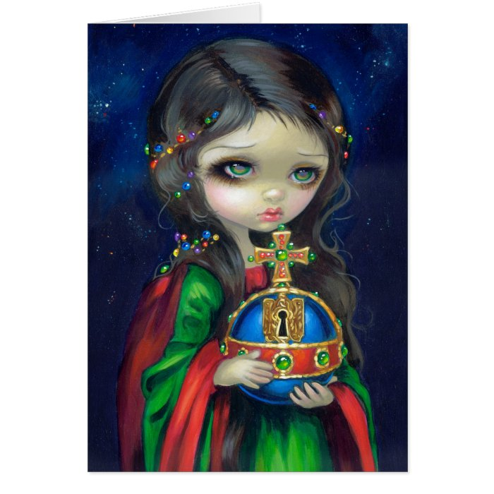 """""""Occulto Orbis"""" Greeting Card"""