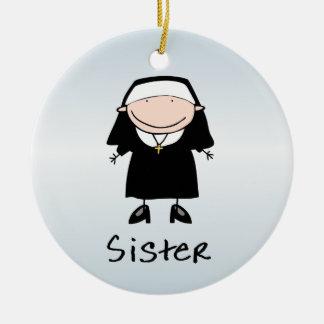 Occupation Nun Religious Vocation  Personalized Ceramic Ornament