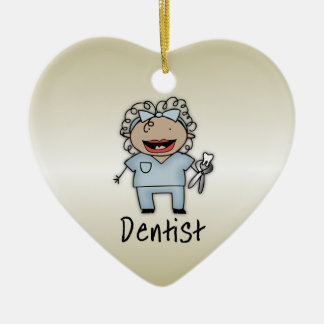 Occupation Woman Dentist Professional Personalized Ceramic Ornament