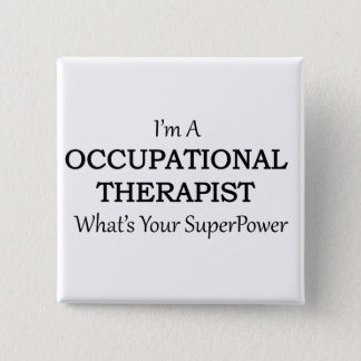 Occupational Therapist 15 Cm Square Badge