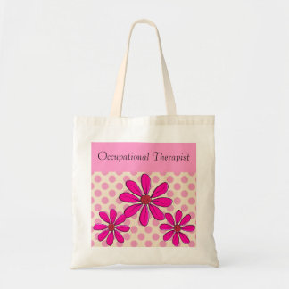 Occupational Therapist Pink Daisies Tote Bag