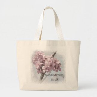 Occupational therapy for life cherry blossom tote