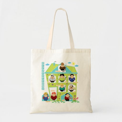 Occupations Tote Bag