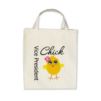 Occupations Chick Vice President Canvas Bag