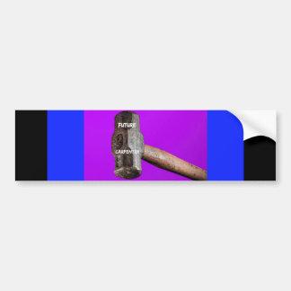 Occupations: Future Carpenter Sledgehammer Design Bumper Sticker