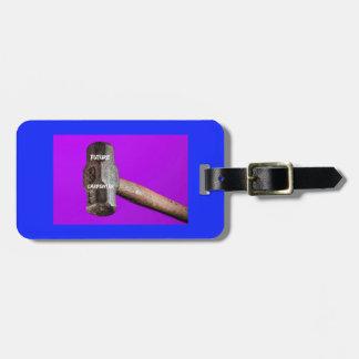 Occupations: Future Carpenter Sledgehammer Design Luggage Tag