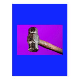 Occupations: Future Carpenter Sledgehammer Design Postcard