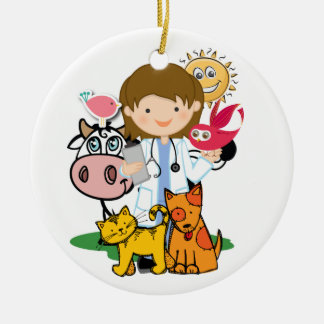 Occupations - Veterinarian - SRF Ceramic Ornament