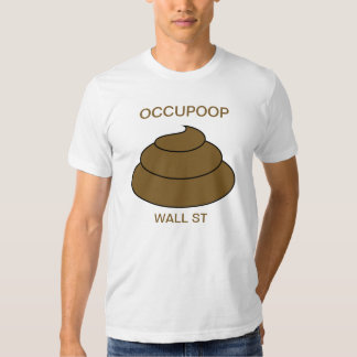 OCCUPOOP Wall St Tshirts