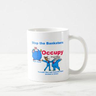 Occupy #2 basic white mug