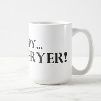 Occupy a Deep Fryer Basic White Mug