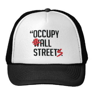 Occupy All Streets Hat