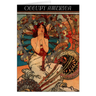 OCCUPY AMERICA CARD
