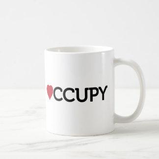 occupy basic white mug