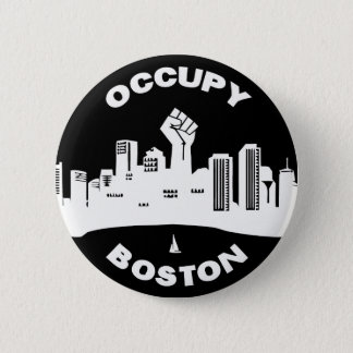 Occupy Boston 6 Cm Round Badge