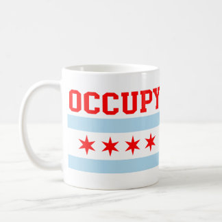 Occupy Chicago Flag Coffee Mug