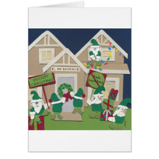 Occupy Christmas Card