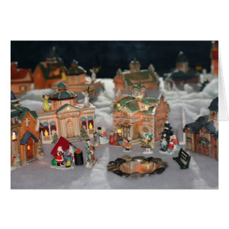Occupy Christmas Village Card