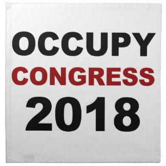 Occupy Congress 2018 Napkin
