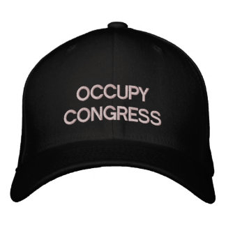 Occupy Congress Cap Template