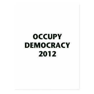 Occupy Democracy 2012 Postcards