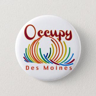 Occupy Des Moines 6 Cm Round Badge