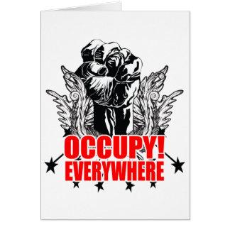 Occupy Everywhere Card