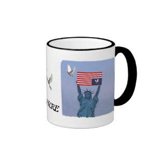 Occupy Everywhere Ringer Mug