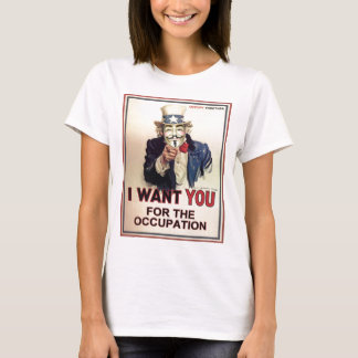 Occupy Everywhere Women's Fitted Tee
