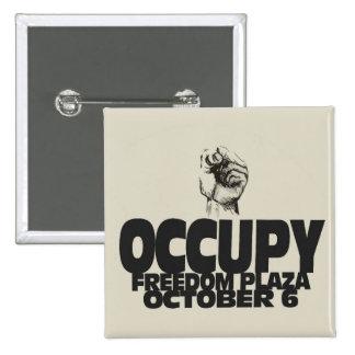 Occupy Freedom Plaza Oct 6 Button