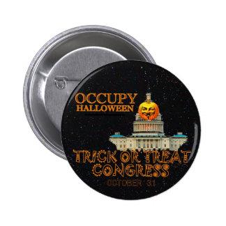 Occupy Halloween Oct 31 Pin