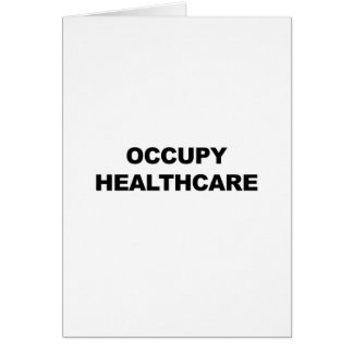 OCCUPY HEALTHCARE CARD