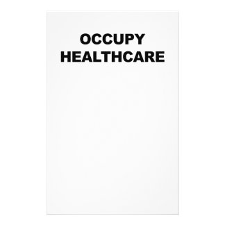 OCCUPY HEALTHCARE PERSONALIZED STATIONERY