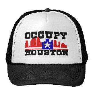 Occupy Houston Mesh Hat