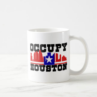 Occupy Houston Mugs