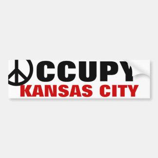 OCCUPY KANSAS CITY BUMPER STICKER