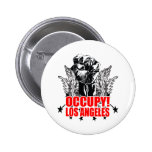 Occupy Los Angeles Buttons