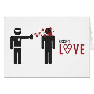 Occupy Love cool Design Card