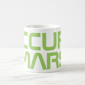 """OCCUPY MARS"" COFFEE MUG"