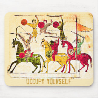 Occupy Medieval Art Pad Mouse Pad
