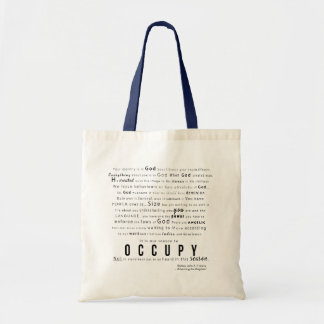 OCCUPY: MESSAGE BAG