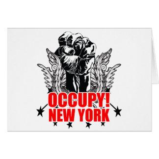 Occupy New York Card