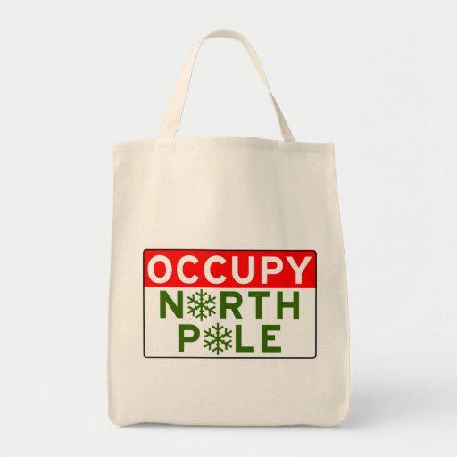 Occupy North Pole Bags