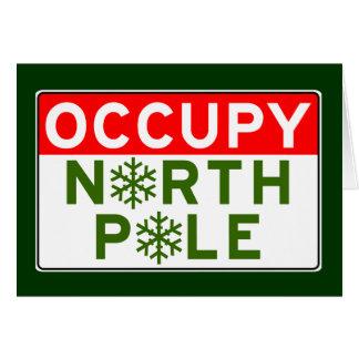 Occupy North Pole Card