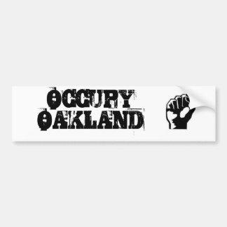 Occupy Oakland Bumper Sticker