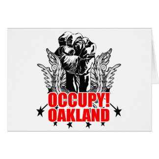 Occupy Oakland Card