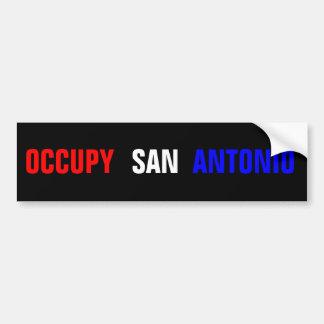 Occupy San Antonio Bumper Sticker