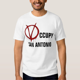OCCUPY SAN ANTONIO TEES