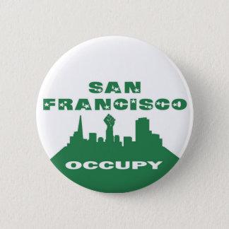 Occupy San Francisco 6 Cm Round Badge